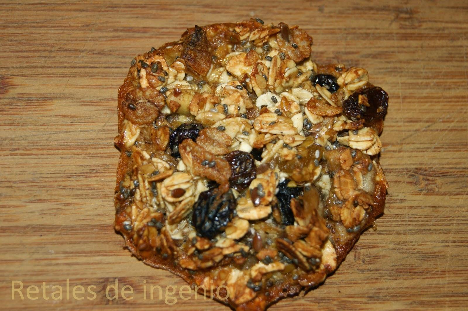 Retales de ingenio recetas y dietética galletas avena
