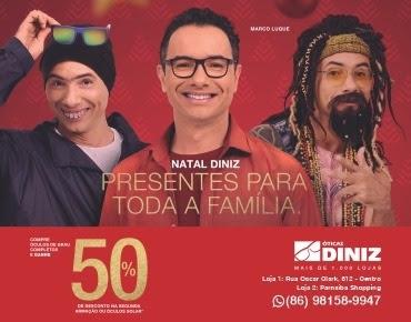 NATAL DINIZ - Presentes para toda a familia