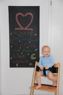 Tafelbild 22 Monate