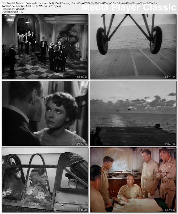 Imagenes de la película: Puente de mando | 1949 | Task Force