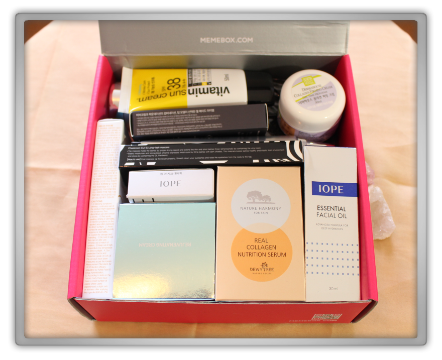 겟잇뷰티박스 by 미미박스 memebox beautybox #41 Jackpot Box unboxing review preview box look inside