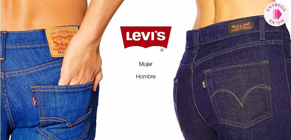 Detalle de la portada de la oferta de Levis