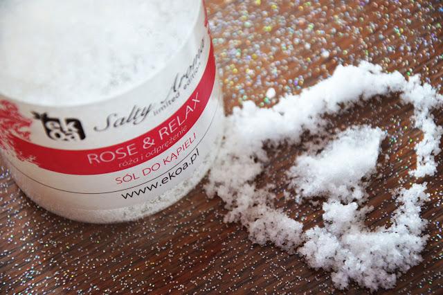 Sól do kąpieli Rose&Relax - róża i odprężenie
