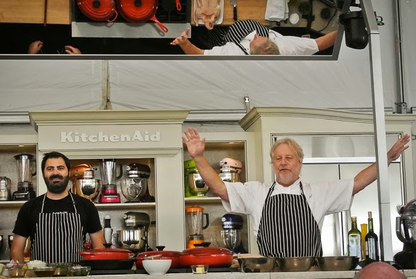 Chef Johnathan Waxman at Music City Eats Food Festival in Nashville Tennessee