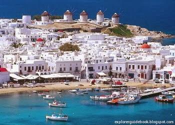 Pulau mykonos island yunani greece