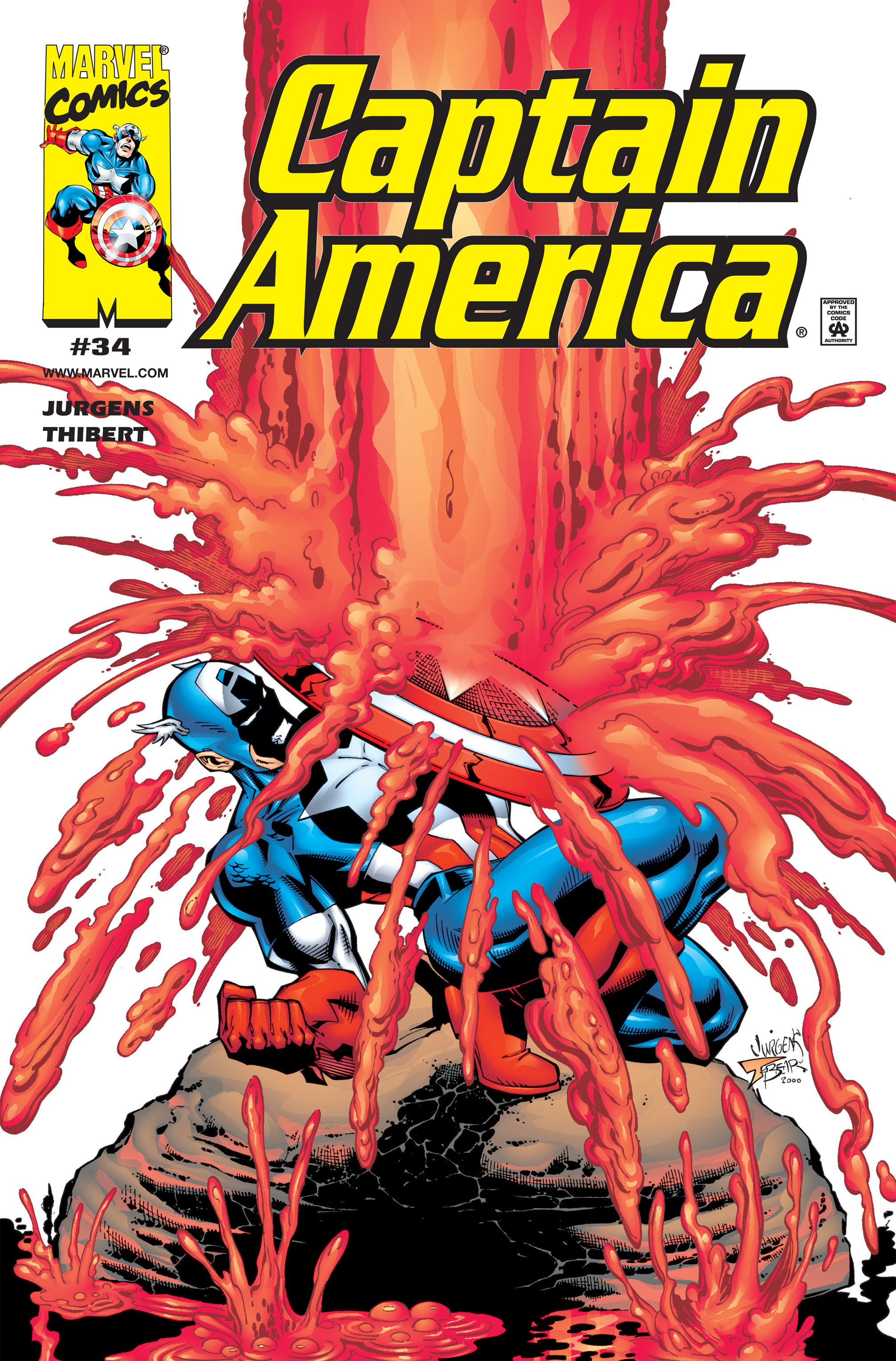 Captain America (1998) 34 Page 1