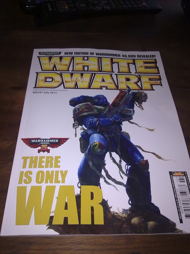 White Dwarf Cover and More Rules