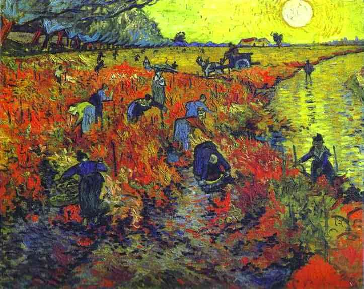 the image which van gough sold
