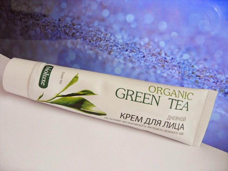 Recenzja: Tonizujący krem na dzień z ekstraktem z zielonej herbaty, Bioluxe