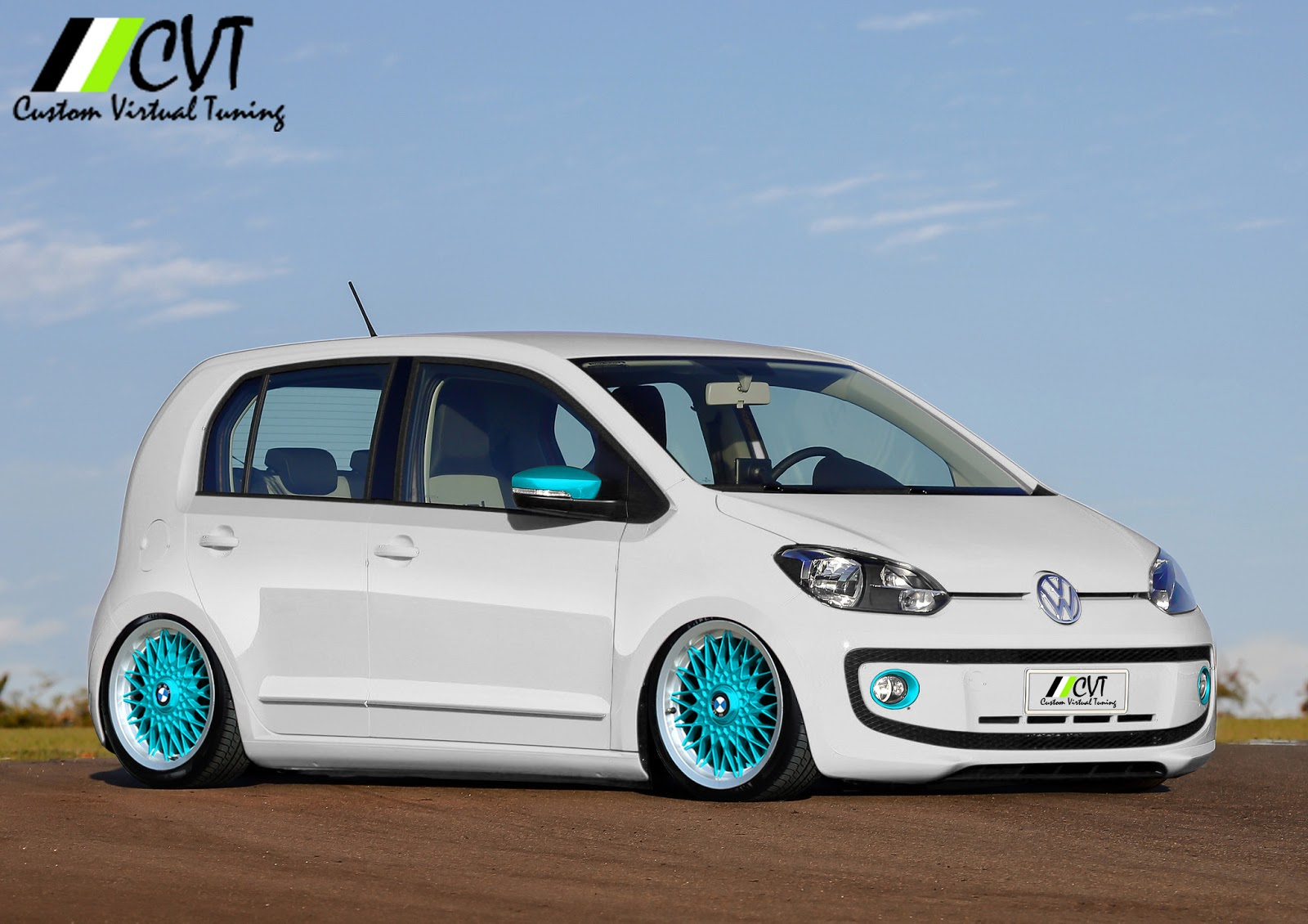 custom virtual tuning volkswagen up bbs bmw. Black Bedroom Furniture Sets. Home Design Ideas