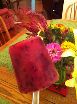 Blueberry Lemon Paleta