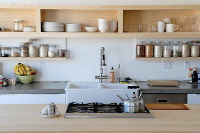 Choosing shelves ideas for kitchen