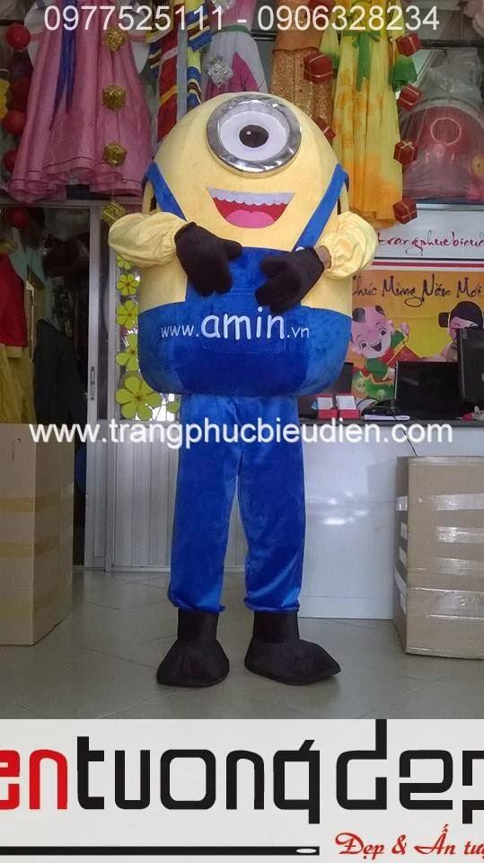 may mascot nhân vật hoạt hình