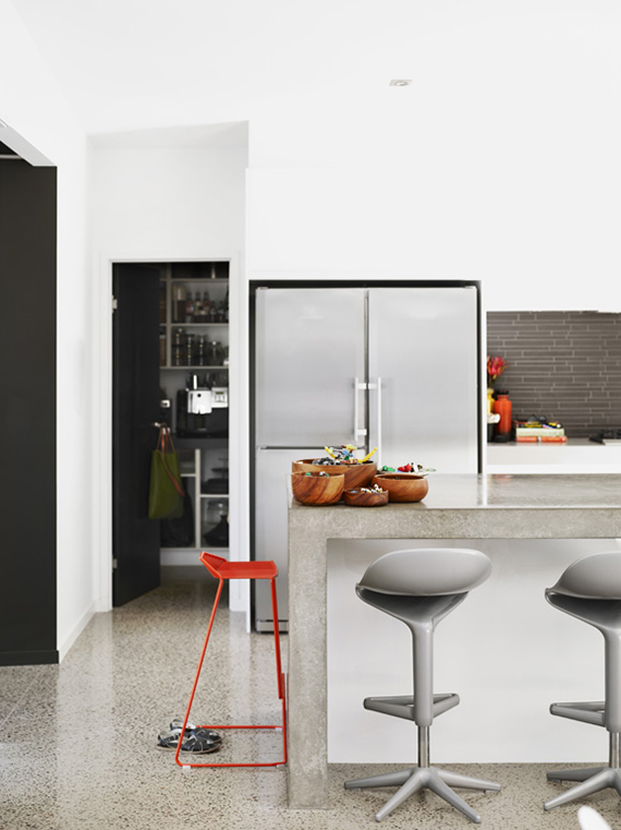 Eclectic kitchen photo by Toby Scott