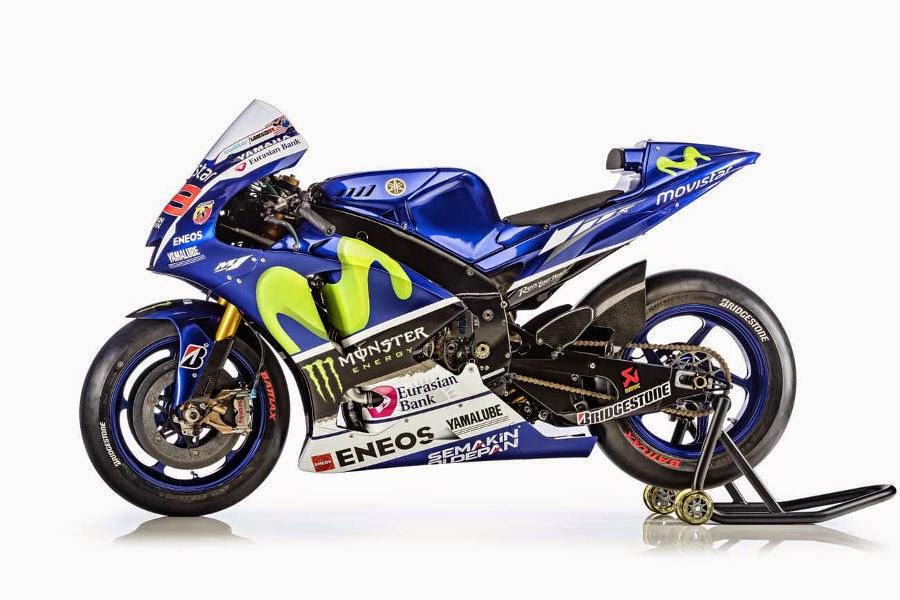 Yamaha YZR-M1 2015 #99 (Lorenzo) Side