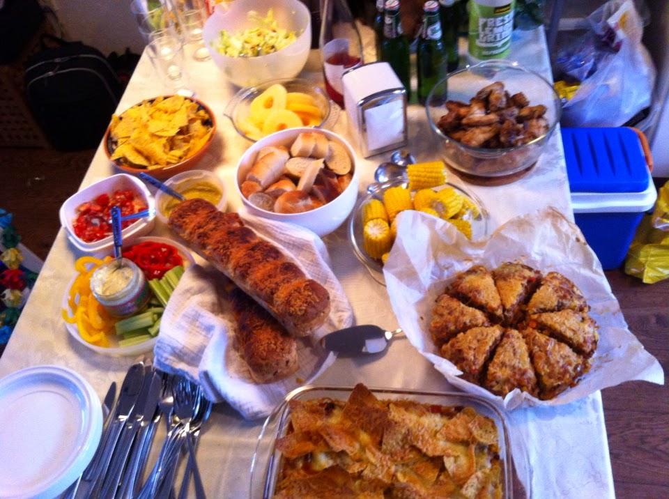 buffet maken voor verjaardag