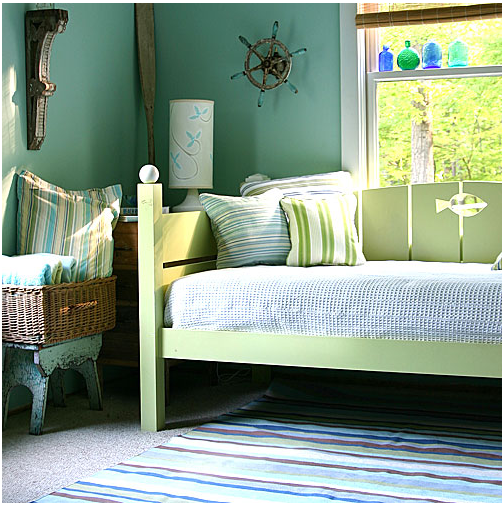 Bedroom Mint Green Wall Scheme In Toddler Boys Bedroom: Lifestyle In Blog: How To Make Mint Green Color Work