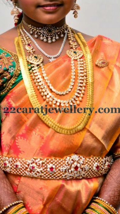 Real Life Bride in Regal Diamond Jewelry