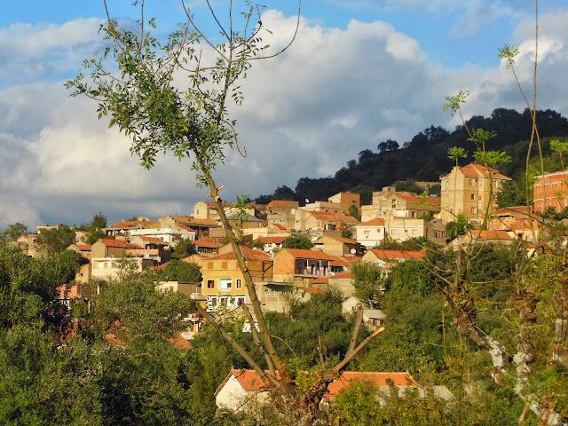 Villages En Kabylie Automne En Berbrie