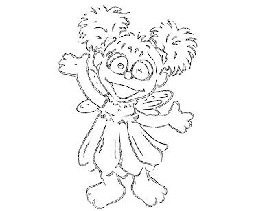 Abby Cadabby Coloring Pages