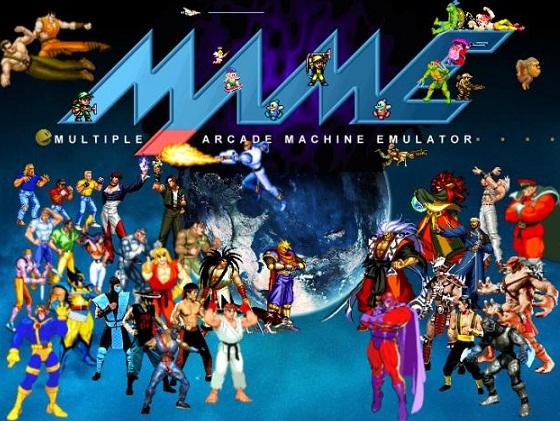 Emulador Mame32