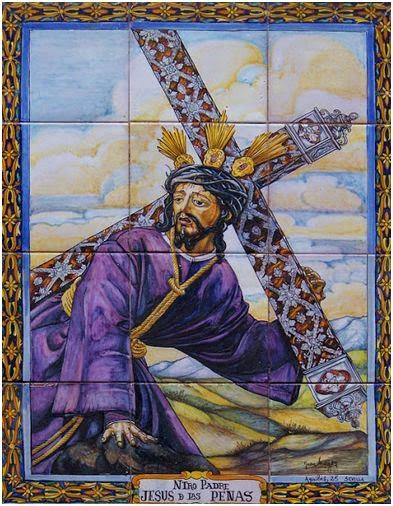 3º estación Ntro. Padre Jesús de la Penas