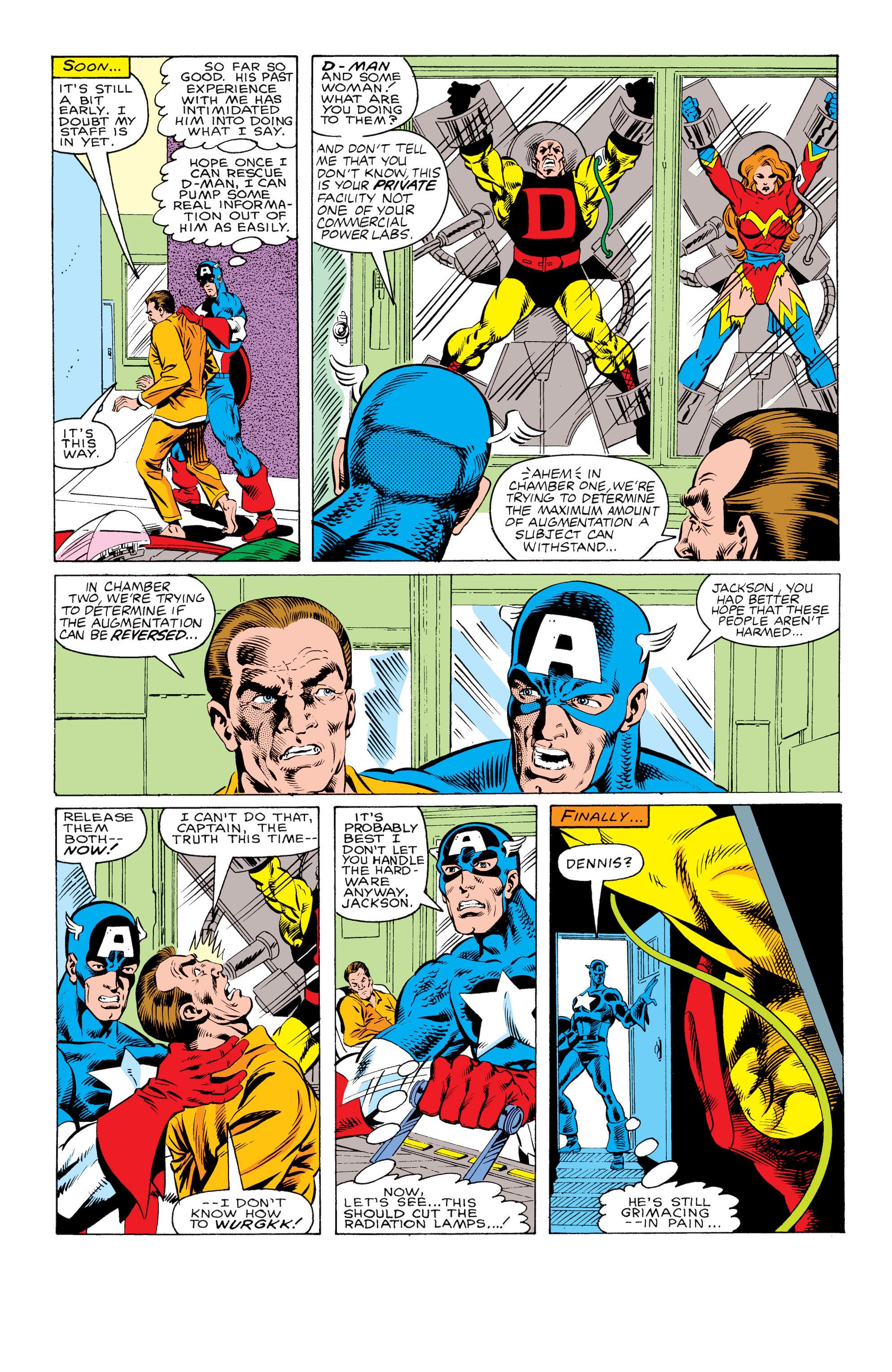 Captain America (1968) Issue #330 #259 - English 19