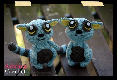 Amigurumi Nurse Free Pattern : 2000 Free Amigurumi Patterns: Blue Lemur crochet pattern