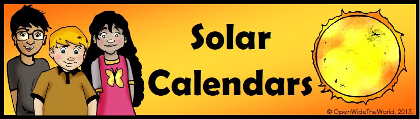 Calendars of the World | Multicultural Kid Blogs
