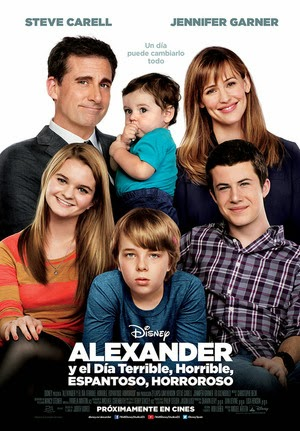 Poster Alexander and the Terrible, Horrible, No Good, Very Bad Day 2014