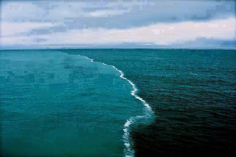 two oceans meet and dont mix