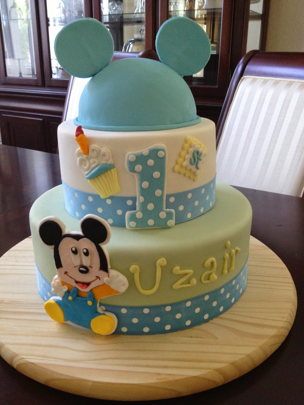 Baby Mickey Mouse Edible Cake Decorations Similiar Baby Mickey Mouse Cake Keywords