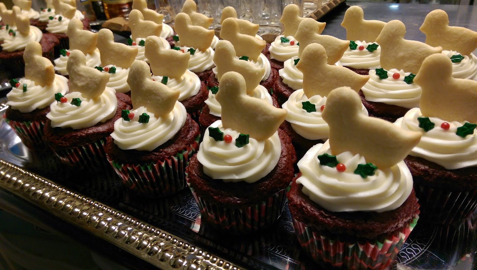 12 Desserts of Christmas: Calling Bird Cupcakes 3 4%2Bcalling%2Bbirds%2Bcupcakes St. Francis Inn St. Augustine Bed and Breakfast