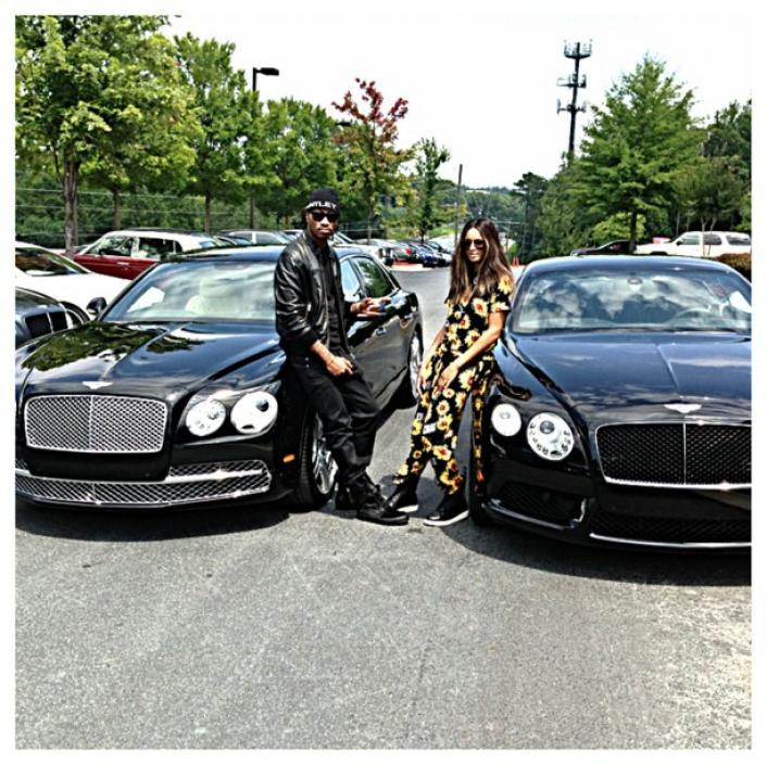 Kemi Online ♥: Ciara & Future Buy 2014 Matching Bentleys