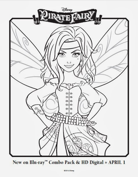 One Savvy Mom Nyc Area Mom Blog Disney Pirate Fairy Free - disney fairies coloring pages to print for free