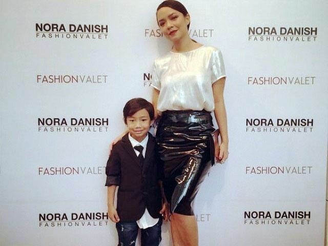 Nora Danish Kunci Mulut Isu Pegang Tangan