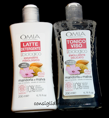 Review: Latte Detergente & Tonico Viso - OMIA