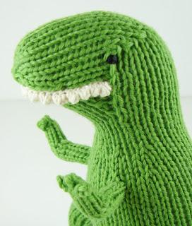 knit dinosaur