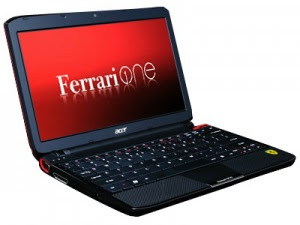 One Netbook Ferrari 200 Latest From Acer