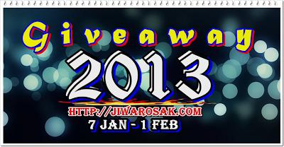 GiveWay New Year 2013 JiwarOsak