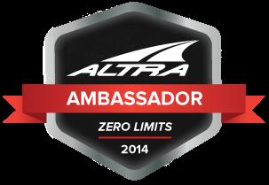 2014 Altra Ambassador