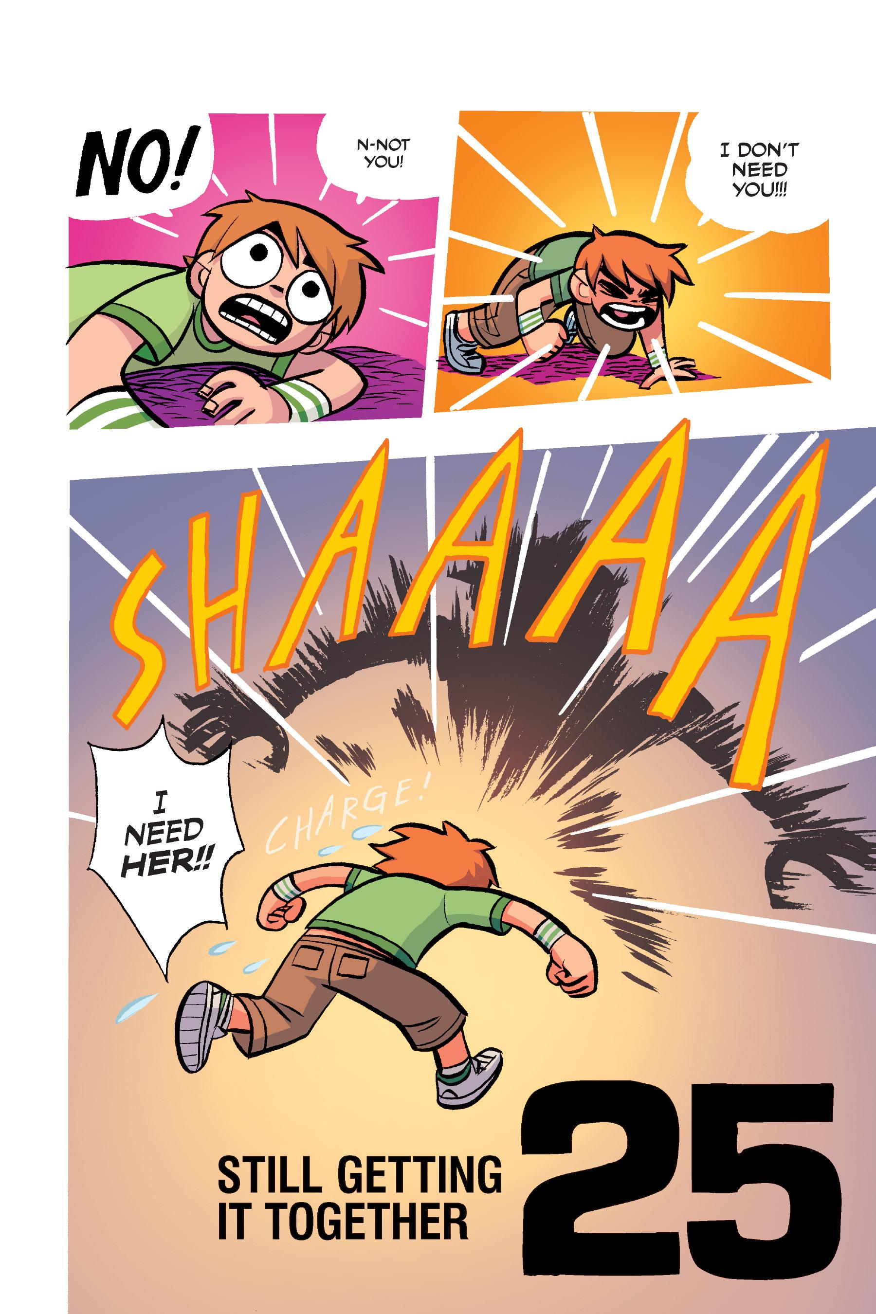 Read online Scott Pilgrim comic -  Issue #4 - 170