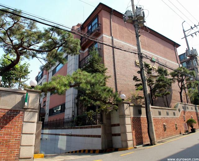 Casa elegante en la parte sur de Seúl