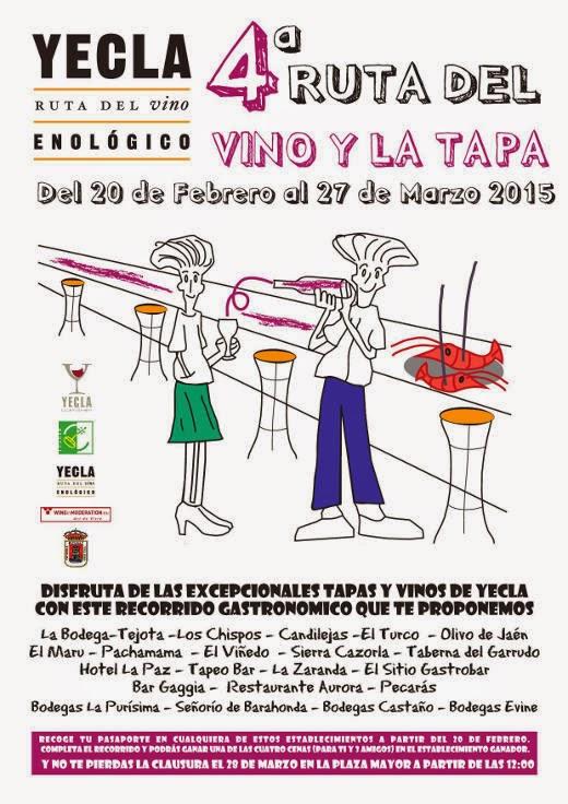 IV Ruta del Vino y la Tapa de Yecla 2015