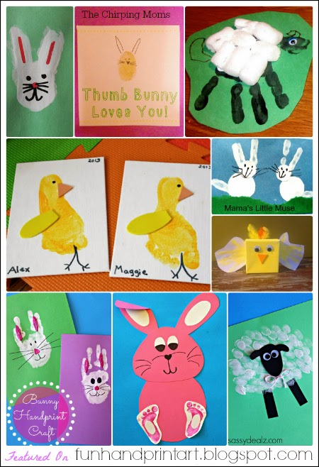 30+ Easter Handprint & Footprint Art