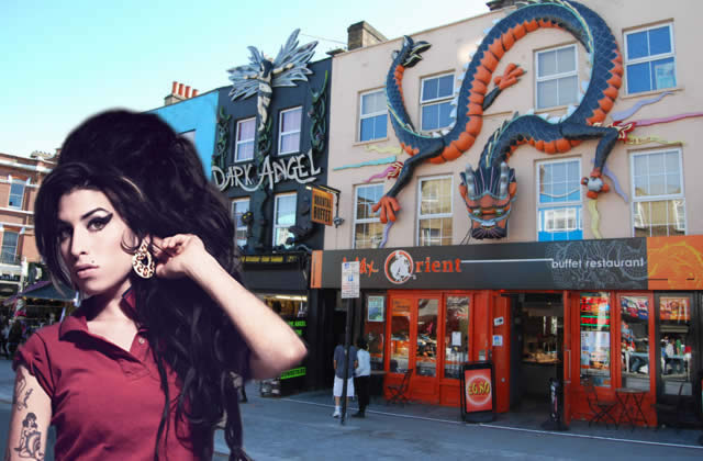 Camden Town - Amy Winehouse - London
