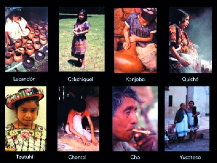 historia de la lengua maya: