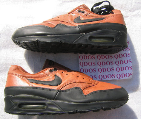 91bac1a344a 1993 NIKE AIR MAX LEATHER PLUS SC hybrid 1 90 PECAN PECAN-BLACK