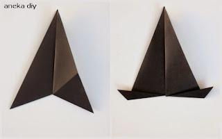 cara membuat origami hewan kucing yang indah