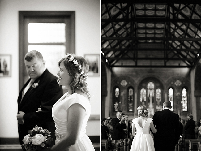 Wedding Photography Doonbeg Ireland, church ceremony